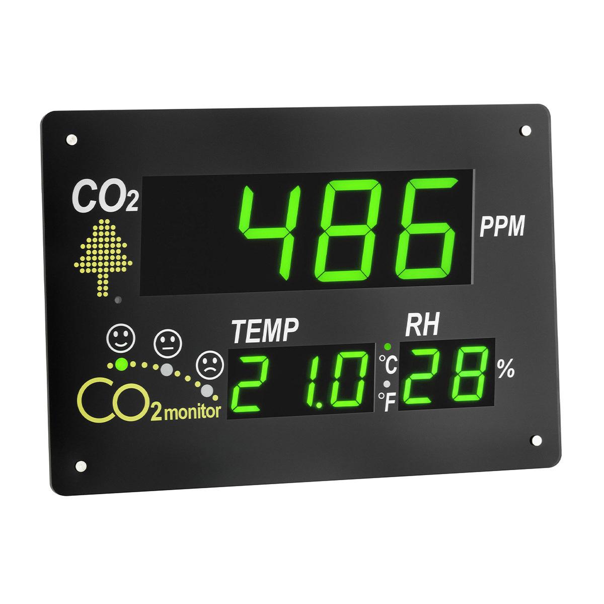AIRCONTROL OBSERVER TFA 31.5002 CO2 MONITOR RAUMKONTROLLE 0-3000 PPM LED ZIFFER