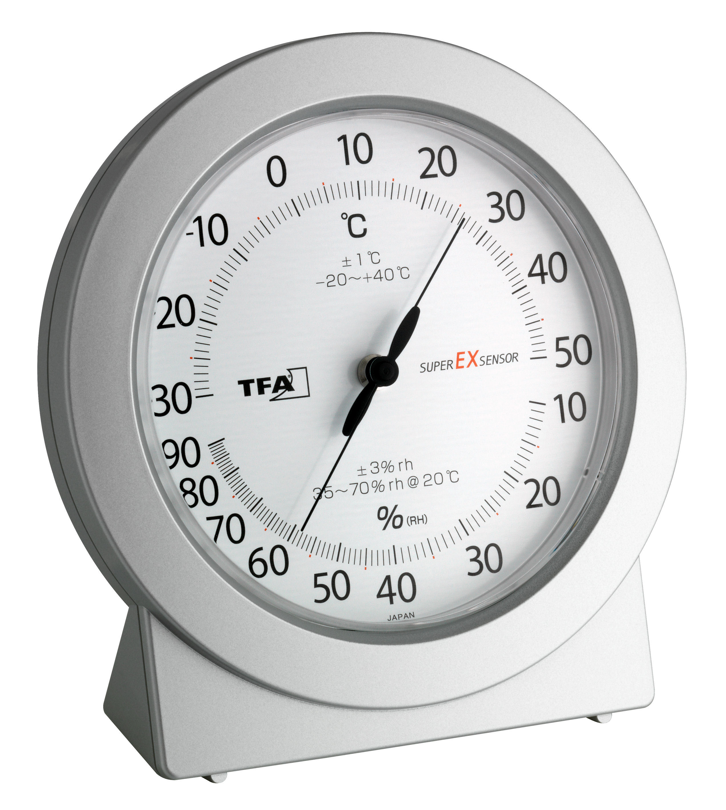 analogue precision thermo hygrometer tfa dostmann. Black Bedroom Furniture Sets. Home Design Ideas