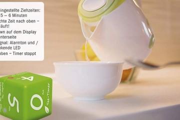 Cube Timer Tea