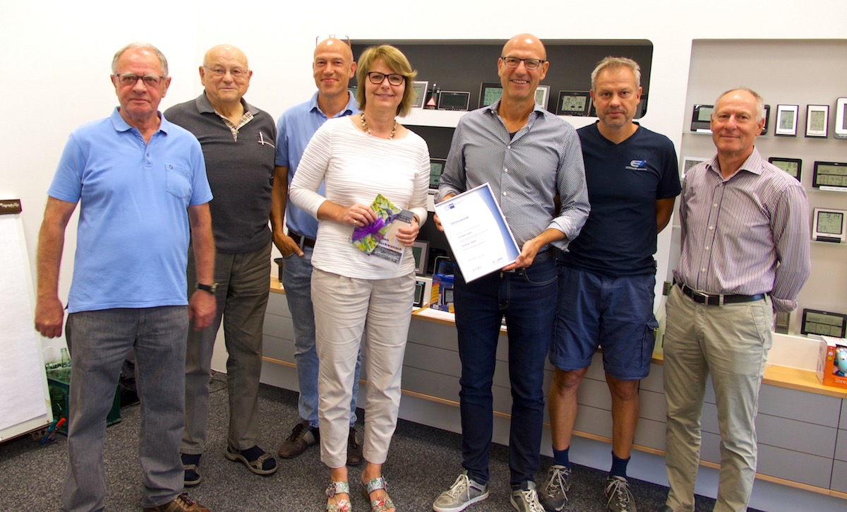 Marliese Ueckert 40 Jahre Betriebszugehoerigkeit