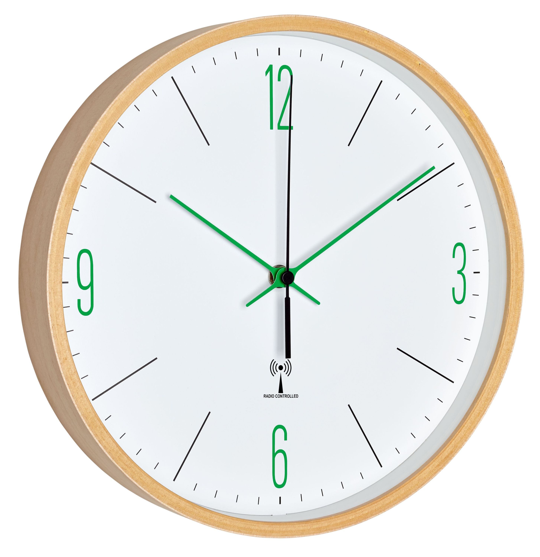 Analogue Designer Radio Controlled Wall Clock Tfa Dostmann