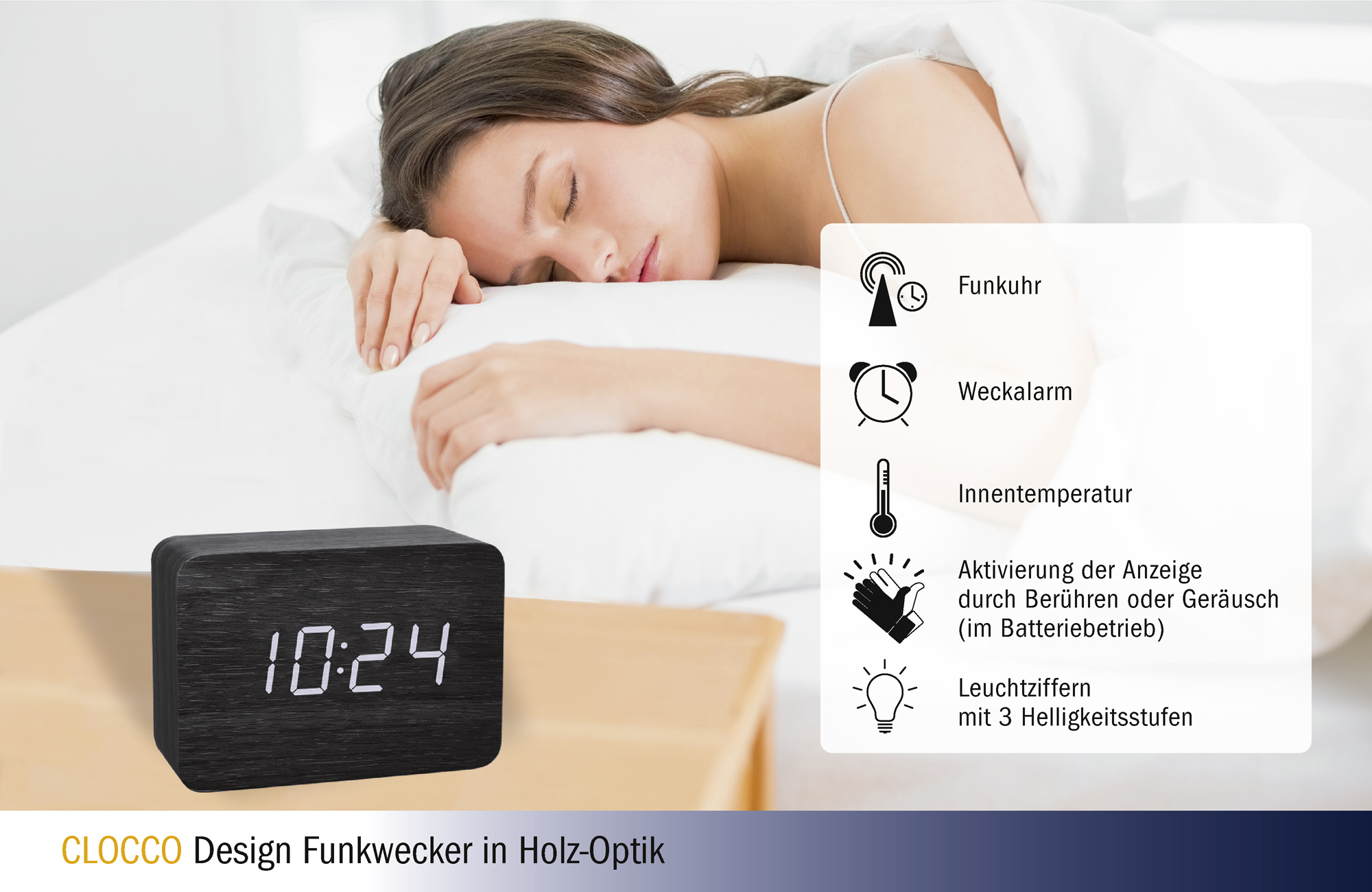 Clocco_Funk-Wecker_Holz Optik_60254901_Icons.jpg