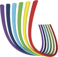 Colour sharp symbol