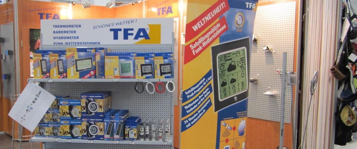 TFA auf der Expocamp, Messeorganisation der TFA Auszubildende