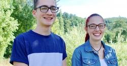 Jonas Goetzelmann und Jessika Schneider haben bestanden
