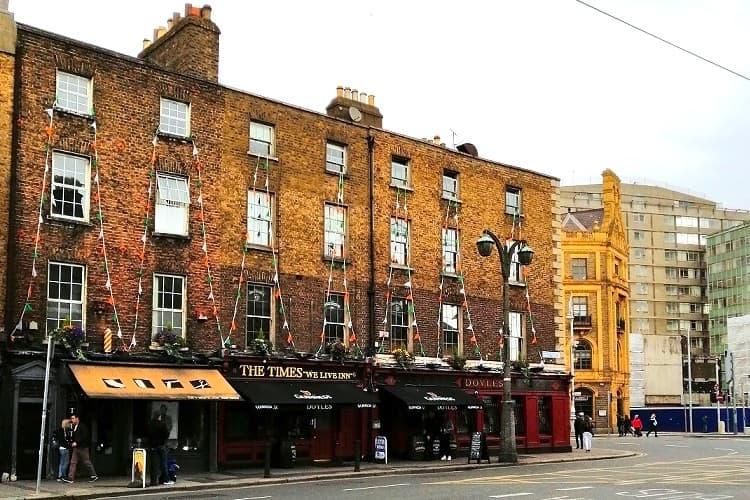 Ein bekanntes Hostel in Dublin, fotografiert von Hannah während ihres Auslandspraktikums