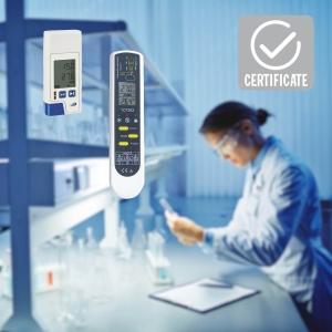 Messgeräte mit Zertifikat bestätigen die Qualität.