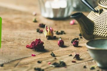 Die Ziehzeit von Schwarzer Tee & Co via Tee-Timer bestimmen.