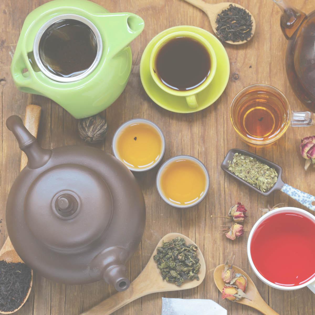 Tee: Je länger der Tee zieht, desto intensiver der Geschmack.
