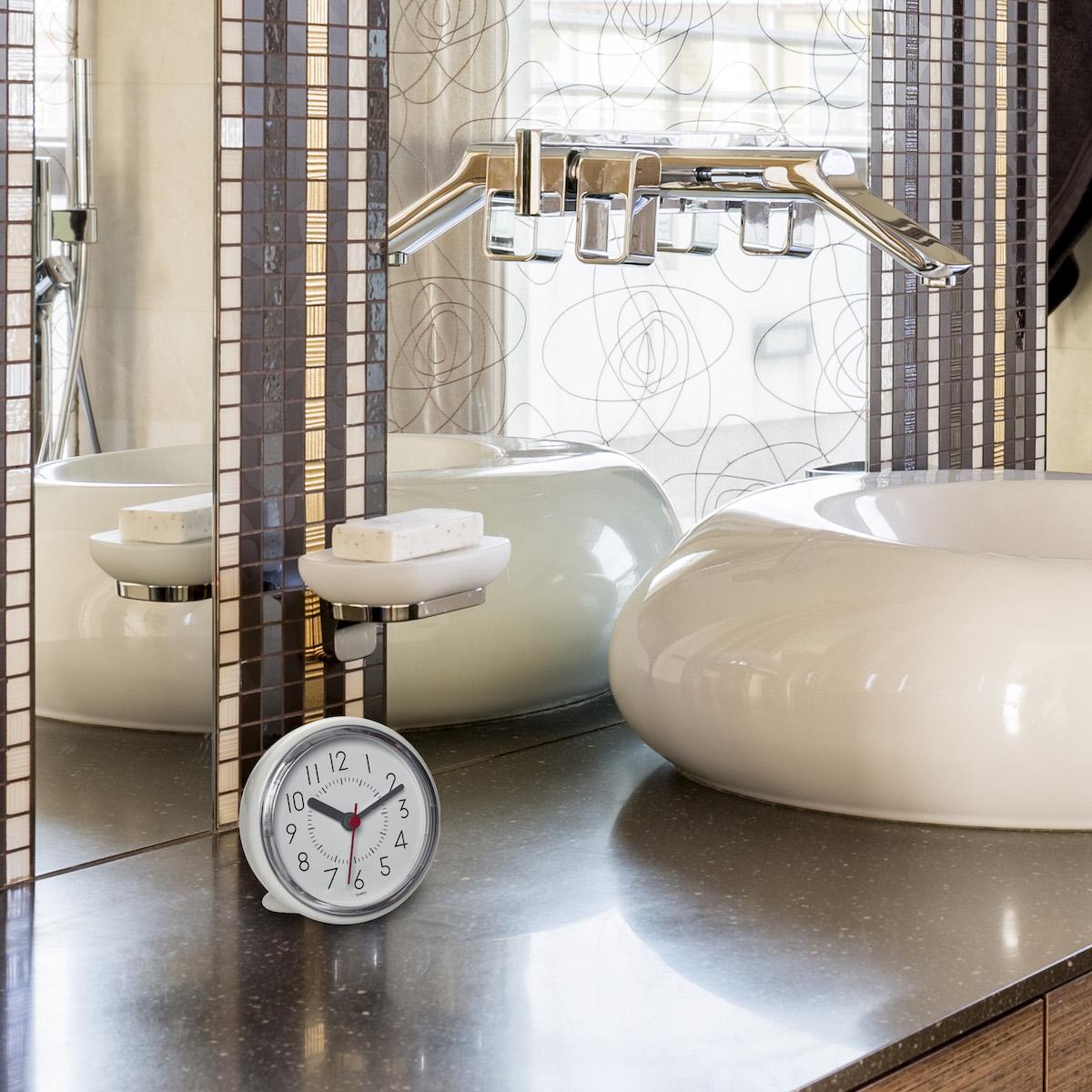 Uhren für das Badezimmer.