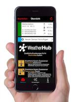 WeatherHub App