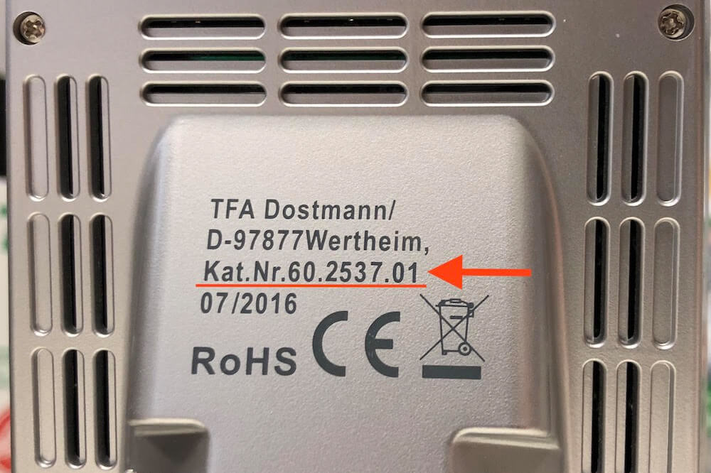 Instruction manuals for TFA products   TFA Dostmann